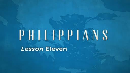 Philippians Lesson 11