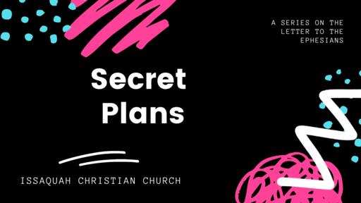 Secret Plans