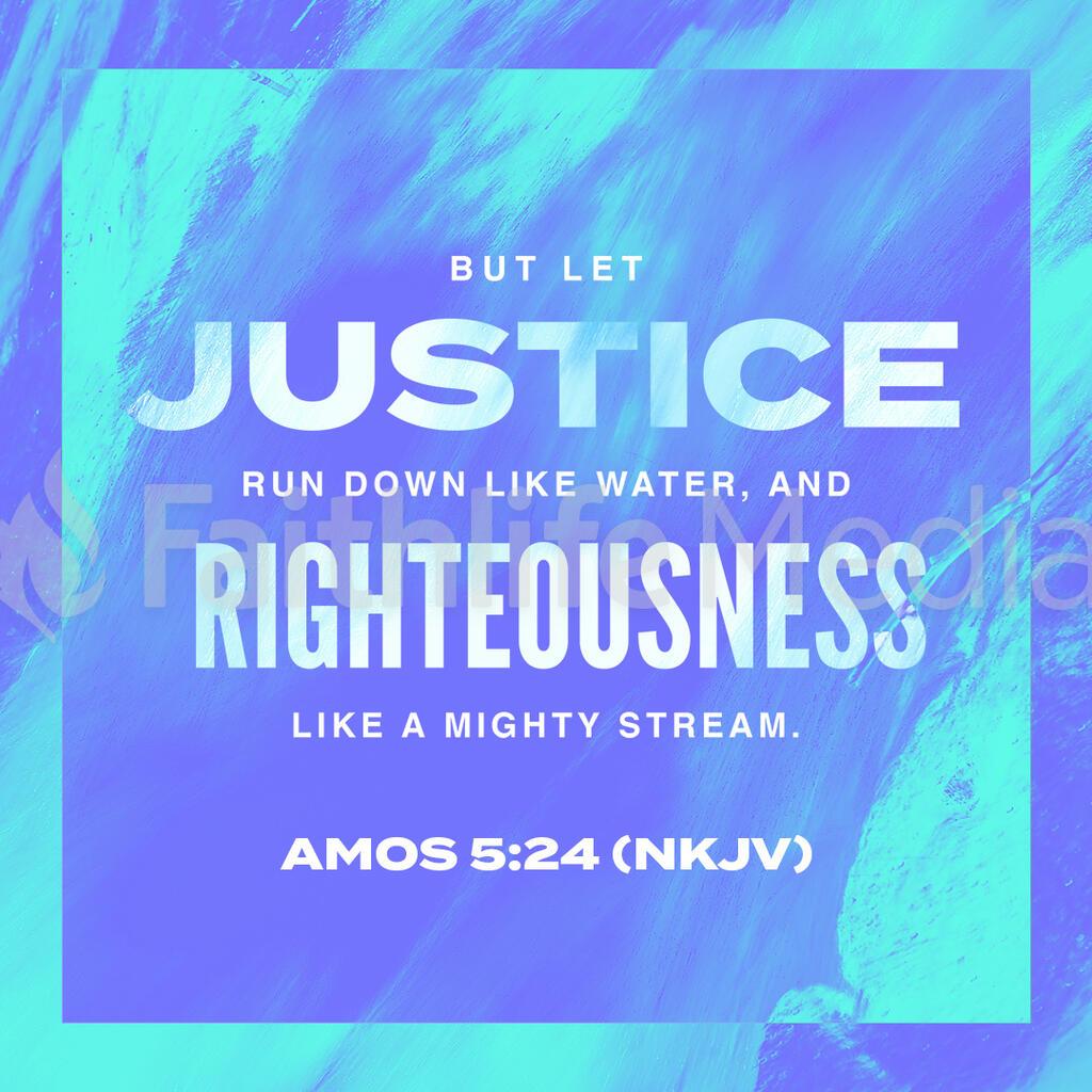 Amos 5 24 (NKJV) preview