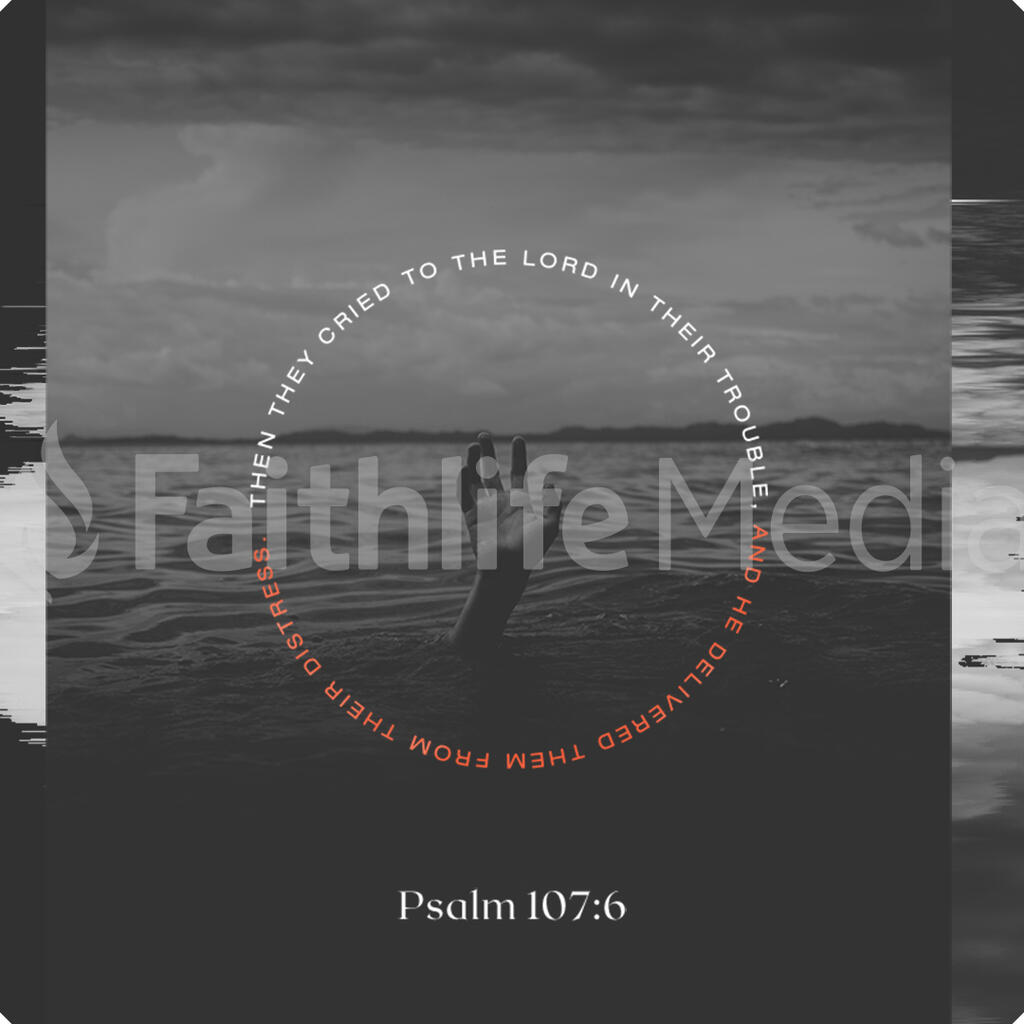 Psalm 107:6 large preview
