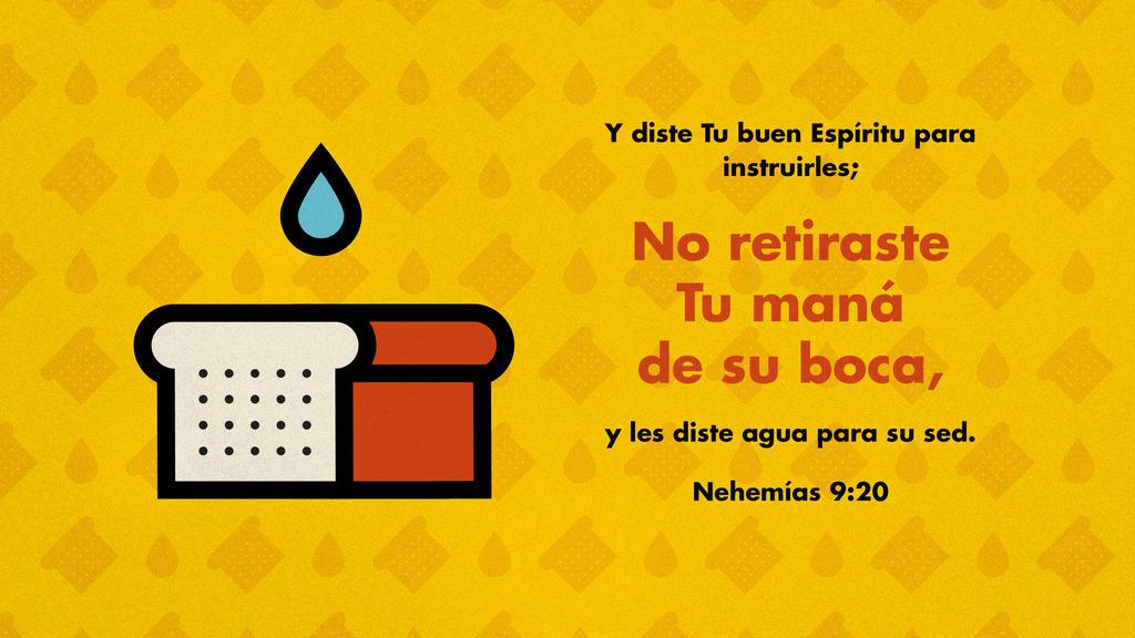 Nehemías 9.20 large preview