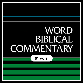 Word Biblical Commentary | WBC (61 vols.)