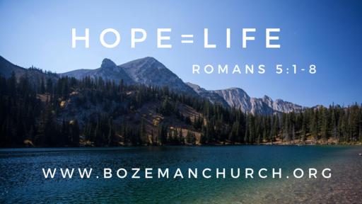 Hope = Life