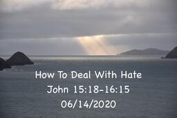 How To Deal With Hate