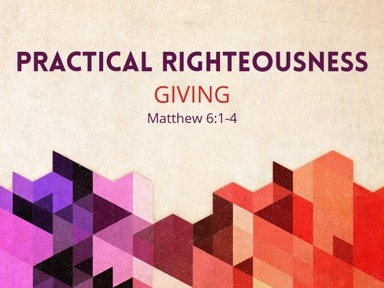 Practical Righteousness