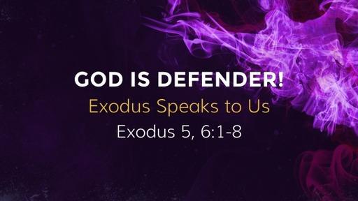 God is Defender!