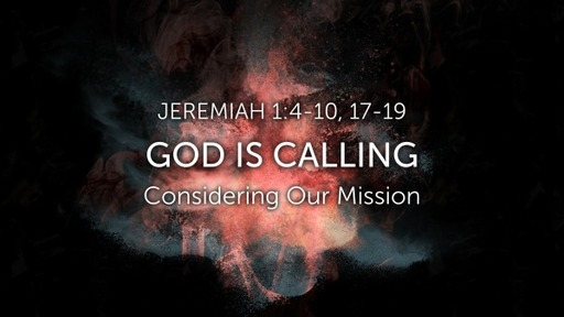 Jeremiah 1: 4-19