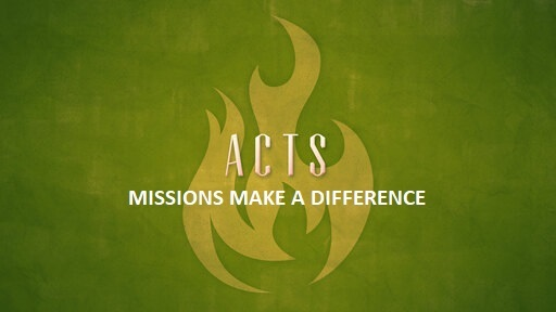 Missions Make a Difference