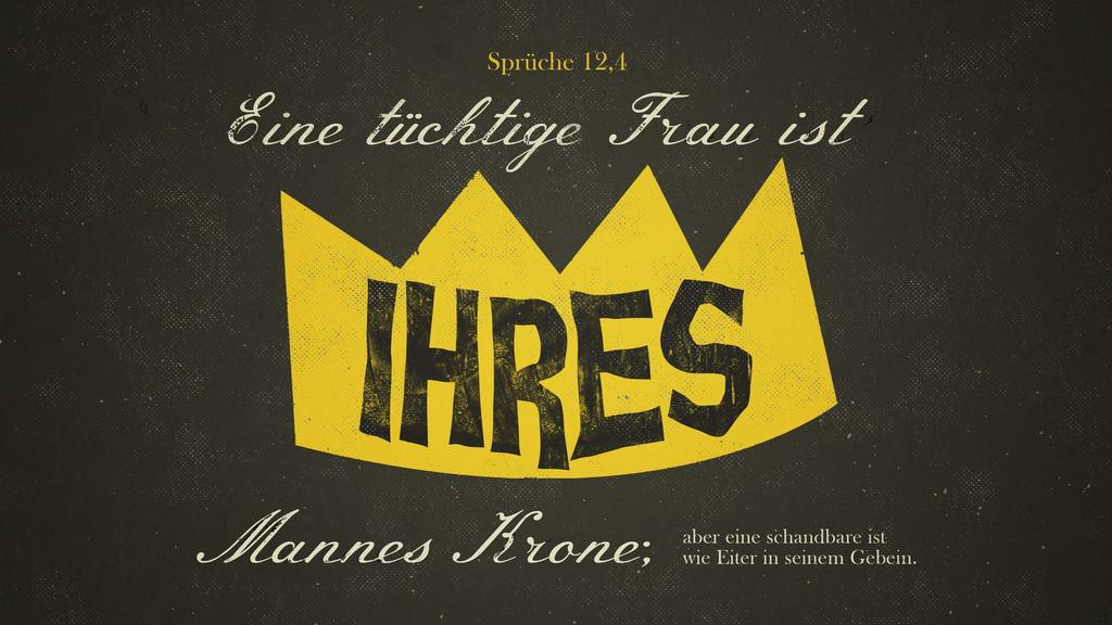 Sprüche 12,4 large preview