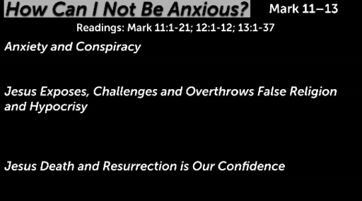 How Can I Not Be Anxious?