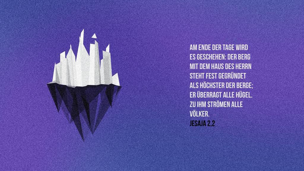 Jesaja 2,2 large preview