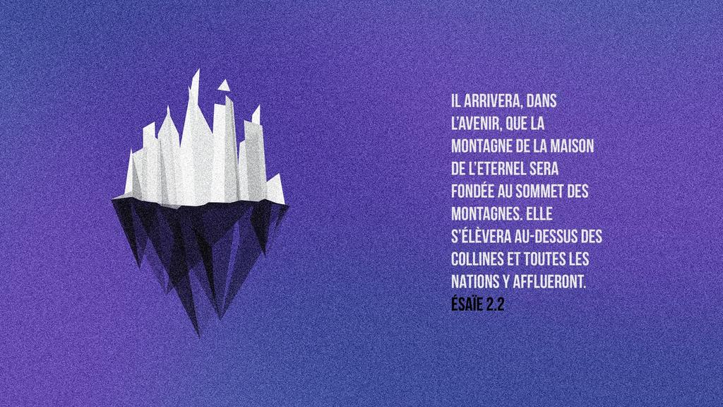 Ésaïe 2.2 large preview