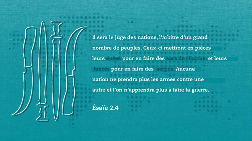 Ésaïe 2.4 large preview