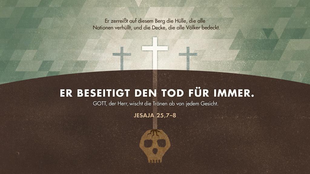Jesaja 25,7–8 large preview