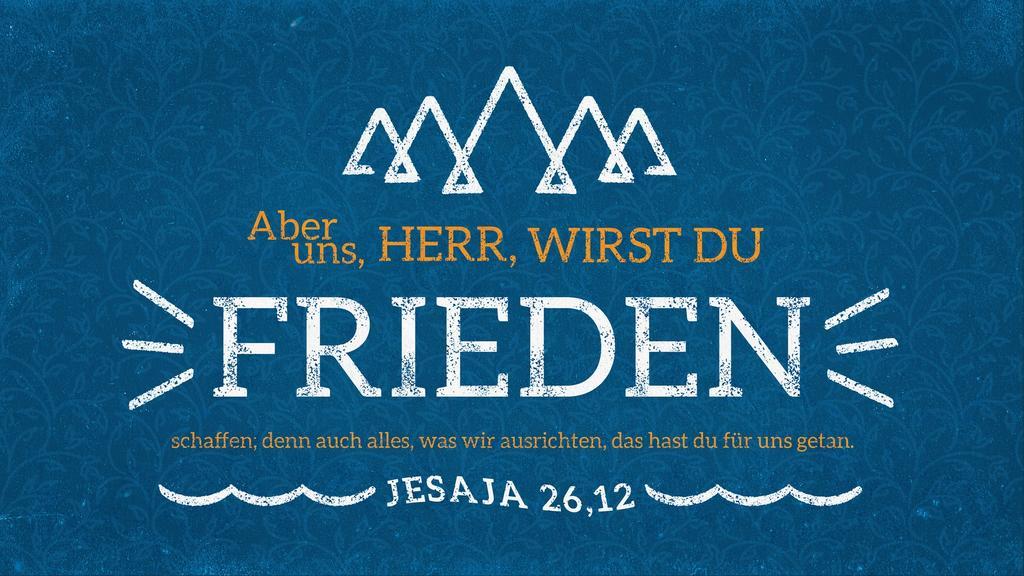 Jesaja 26,12 large preview