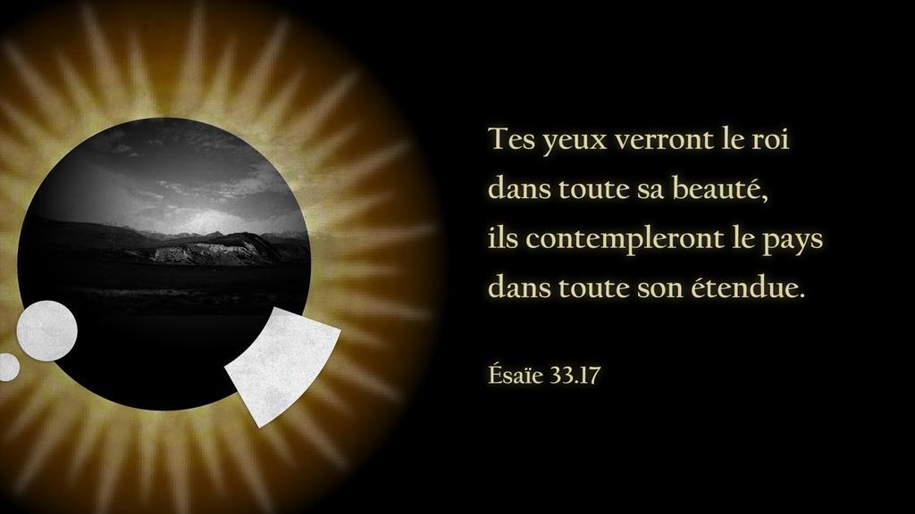 Ésaïe 33.17 large preview