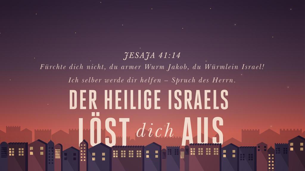 Jesaja 41,14 large preview