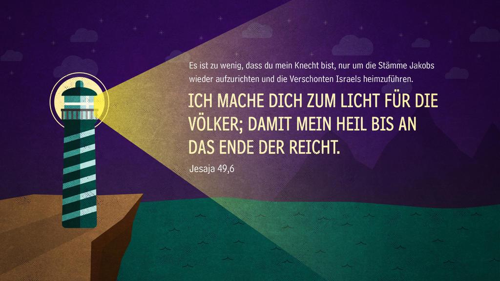 Jesaja 49,6 large preview
