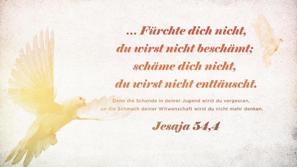Jesaja 54,4 large preview