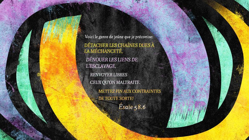 Ésaïe 58.6 large preview