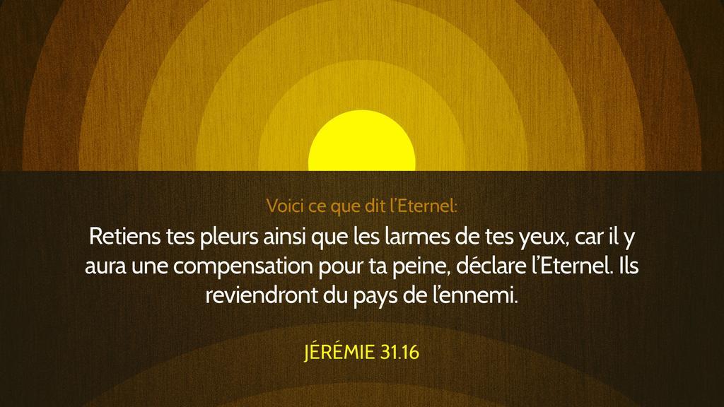 Jérémie 31.16 large preview