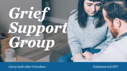 Grief Support Group Blue  PowerPoint image 1