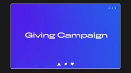 Giving Campaign UIUX 16x9 6469cd6c d30b 47e2 b090 74e0162f0431  PowerPoint image