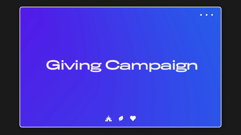 Giving Campaign UIUX large preview