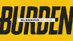 Blessing in The Burden  PowerPoint image 1