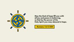Romans 15 Verse  PowerPoint image 1