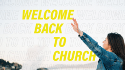 Welcome Back To Church Prayer  PowerPoint image 1