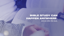 Bible Study Can Happen Anywhere  PowerPoint image 1