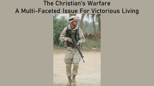 Spiritual Warfare 7