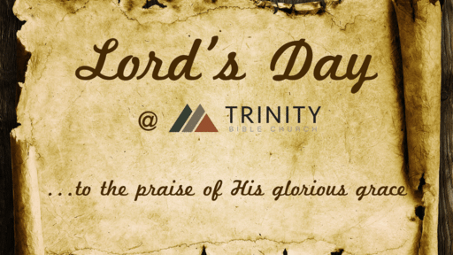Lord's Day At TBC