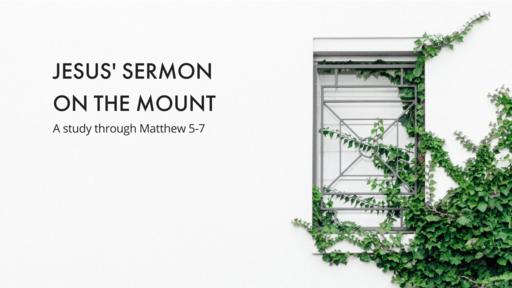 Sermon on the Mount: Retaliation, Love of Neighbor, and the Way of Jesus