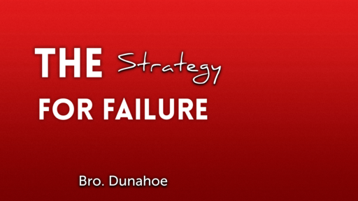 The Strategy of Failure