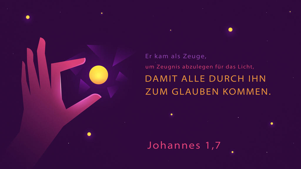 Johannes 1,7 large preview