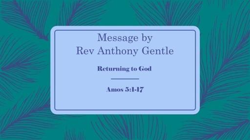 Sunday Service 21 June 2020 - Worship, Lament, Seek