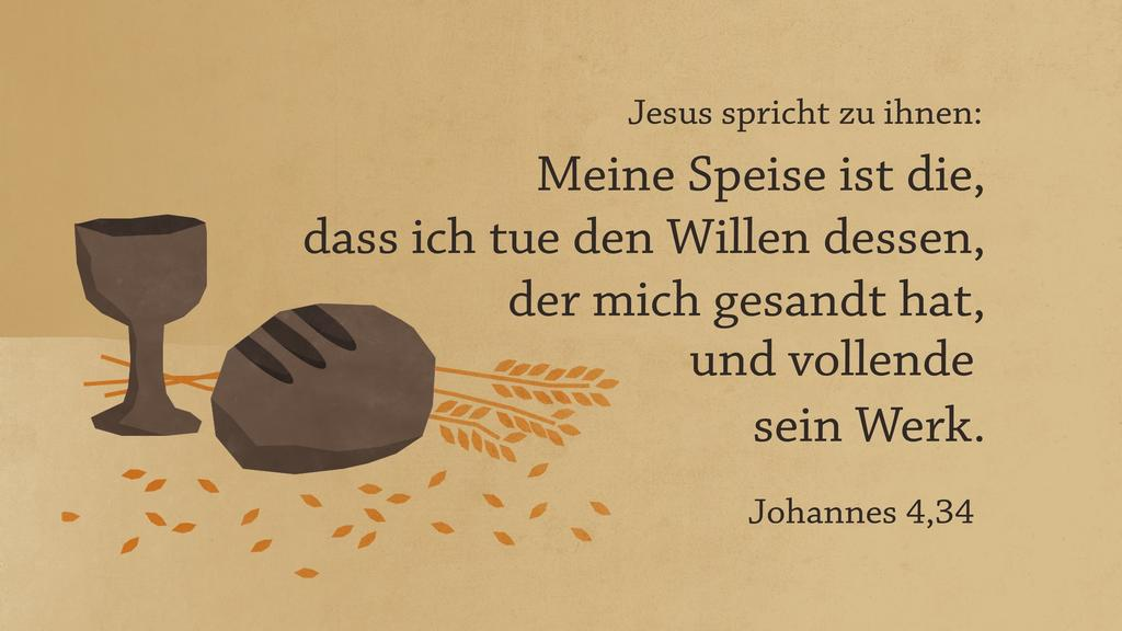 Johannes 4,34 large preview