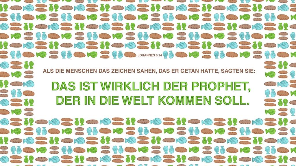 Johannes 6,14 large preview