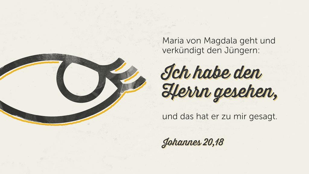 Johannes 20,18 large preview