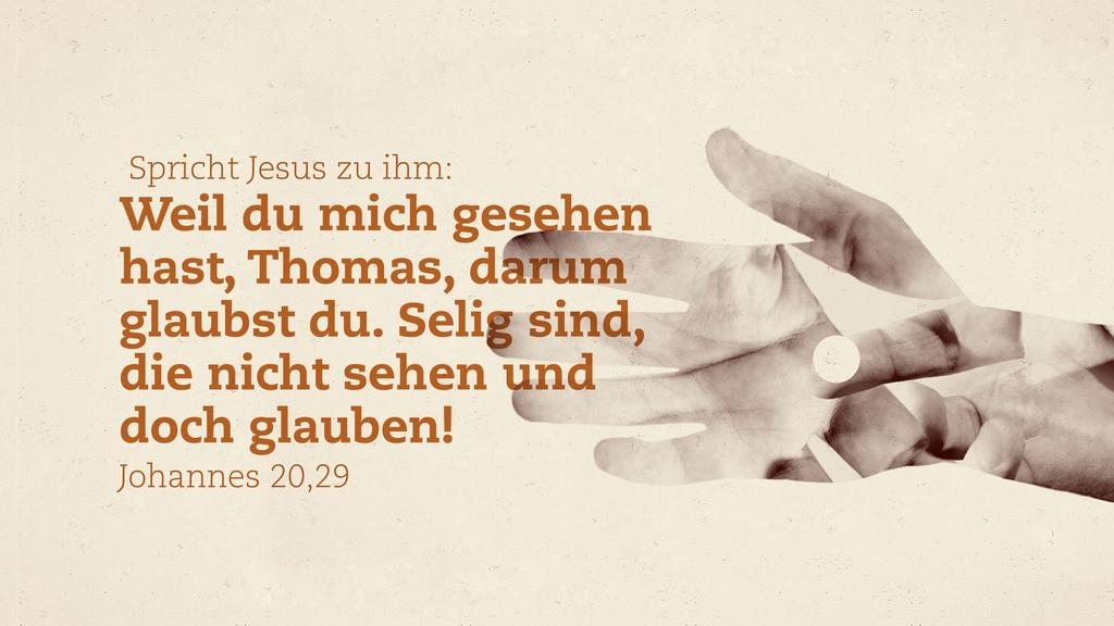 Johannes 20,29 large preview