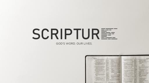 Scripture: God's Word. Our Lives.