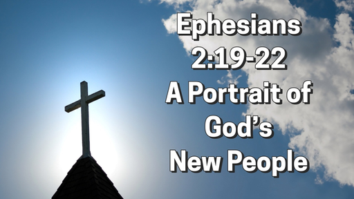 June 21, 2020 - A Portrait of God's New People