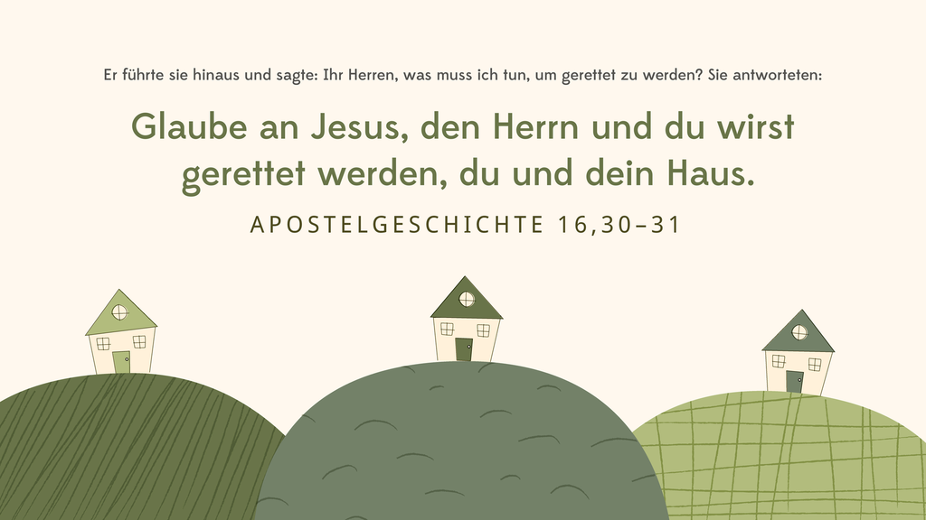 Apostelgeschichte 16,30–31 large preview