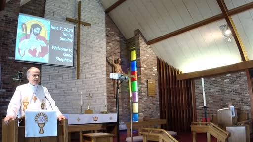 June 7,  2020 Trinity Sunday