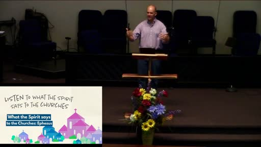 Dr. Karner-What the Spirit says to the Churches: Ephesus