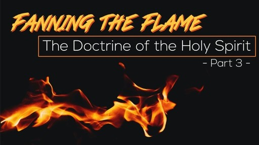 Fanning the Flame: Doctrine of the Holy Spirit (Part 3)