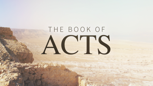 Acts 9:31-10:45 The Power of God in Peter
