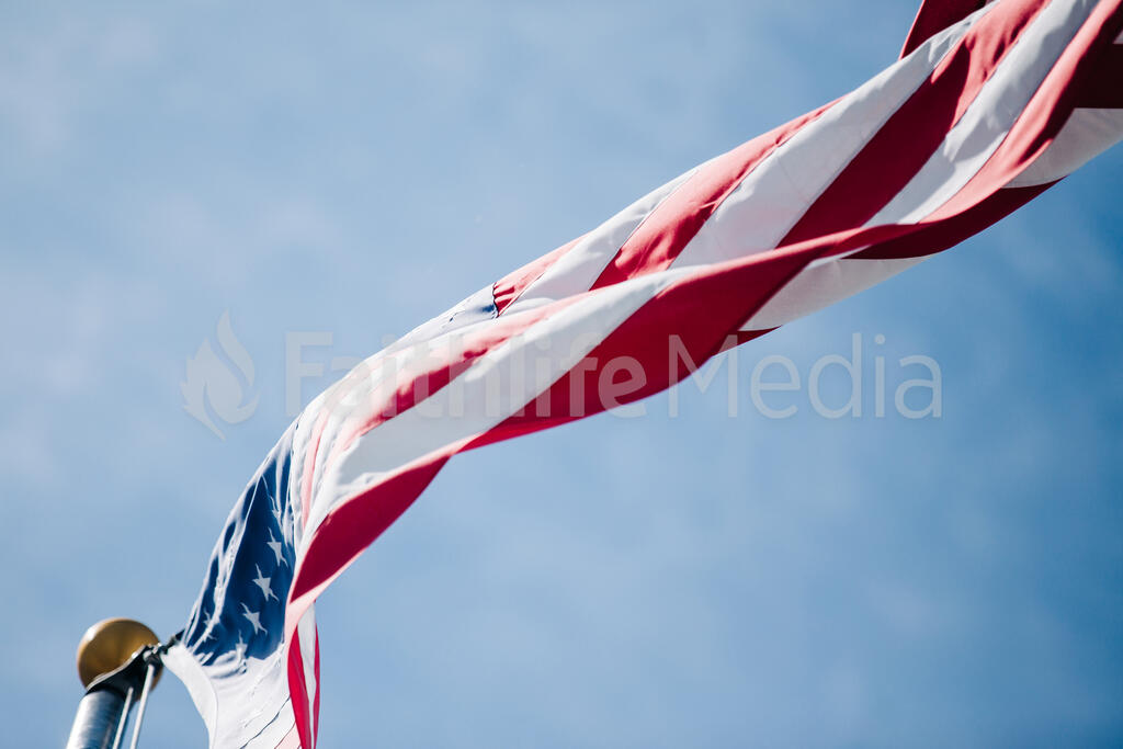 American Flag 45 preview